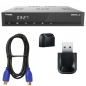 Preview: Protek 9920 LX HD E2 Linux HDTV Sat Receiver + USB 2.0 Wlan Adapter 300 MBit + HDMI-Kabel